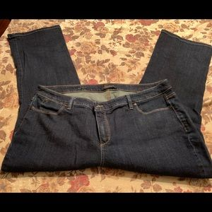 Dark wash jeans 20 women's petite